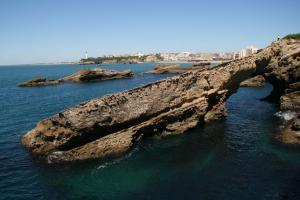 Atlantische rotskust in Biarritz, Frankrijk | © VLIZ, Aina Trias Verbeeck