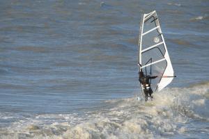 Windsurfer | © VLIZ, Nathalie De Hauwere